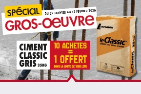 PROMOTION Spécial Gros oeuvre