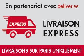 Livraison express sur Paris en partenariat avec Deliver.ee