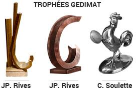 3 Trophées Gedimat
