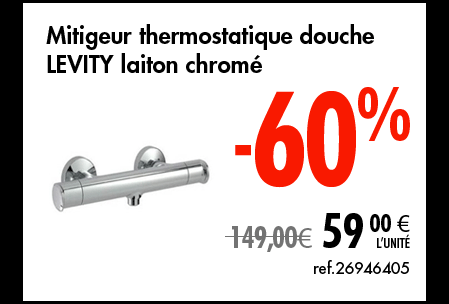 Mitigeur thermostatique