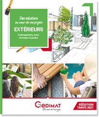Catalogue Aménagements Extérieur Gedimat 2021