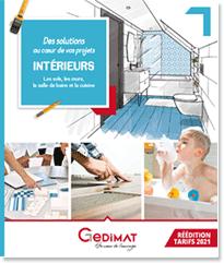 Catalogue Aménagements Intérieurs Gedimat 2021