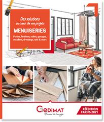 Catalogue Menuiserie et Aménagements Gedimat 2021