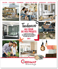 Catalogue TENDANCES Gedimat 2021