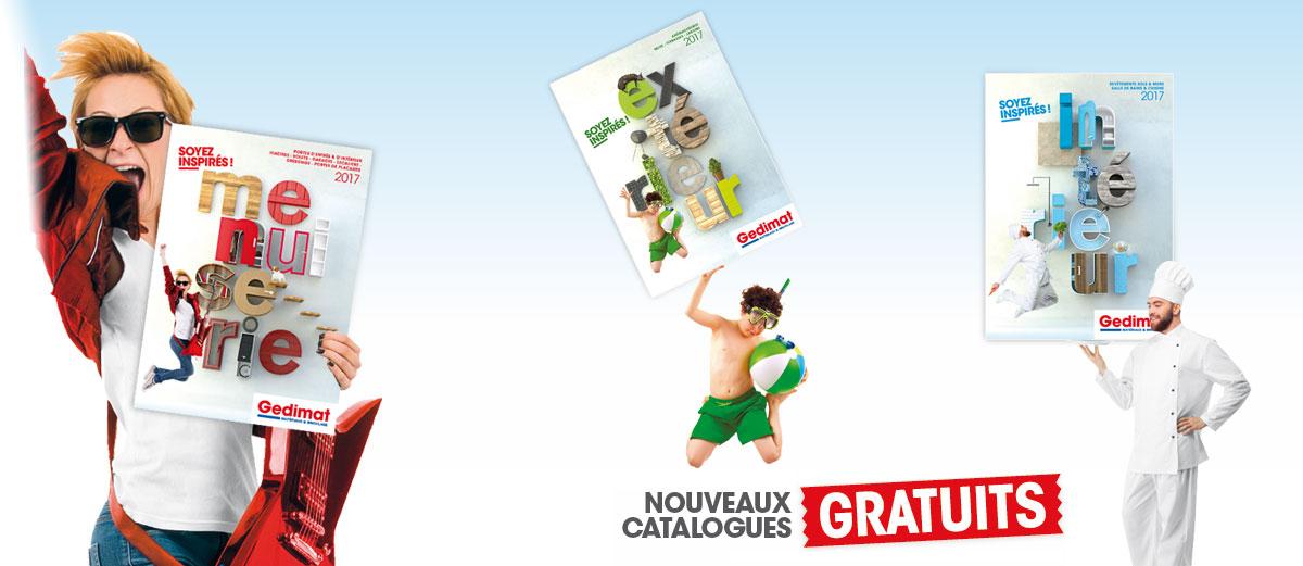 Nos Catalogues - Gedimat.fr
