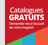 Catalogues gratuits en magasin