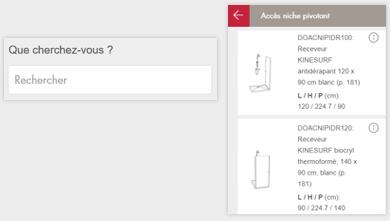 Configurateur 3D Gedimat - Rechercher un produit