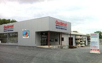 Point de vente Gedimat gautier Matériaux (Montmoreau Saint Cybard)