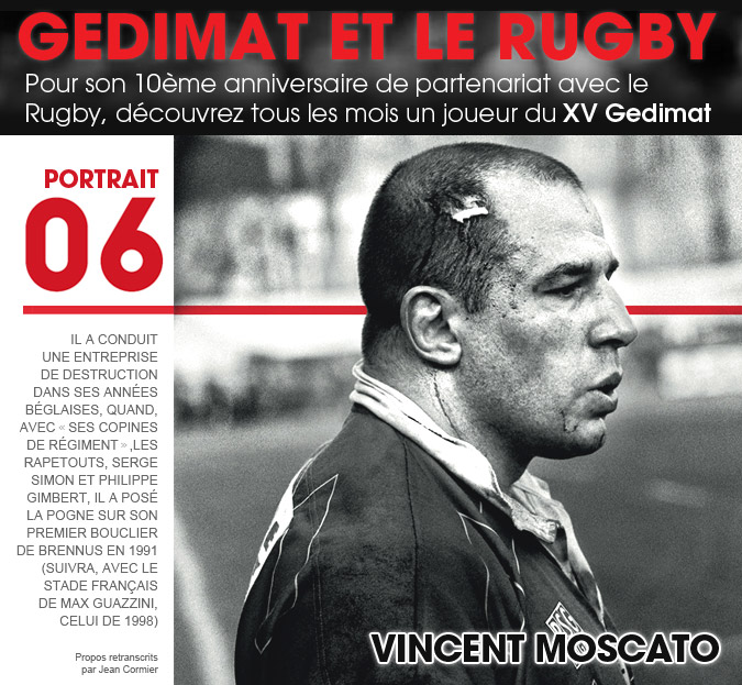 10 ans - Gedimat et le Rugby - Mathieu Blin