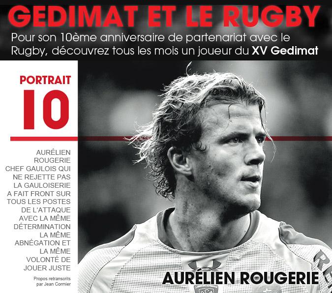 10 ans - Gedimat et le Rugby - Julien Bonnaire