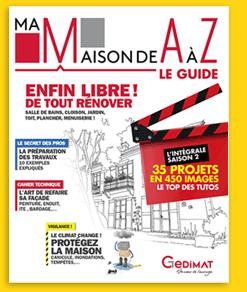Couverture Ma maison de AàZ, le Guide 2019