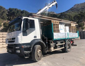 Camion de livraison Sophonet