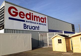 Votre magasin BRUANT - RUE (80) - GEDIMAT Matériaux et Bricolage