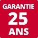 Garantie 25 ans