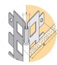 Profilés pour plaques de plâtre