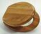 Abattant WC en bois massif naturel vernis 3kg charnières laiton coloris tilleul - Gedimat.fr