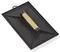 Taloche rectangulaire plastique larg.18cm long.27cm noire - Gedimat.fr