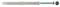 Cheville rallongée universelle nylon avec vis tête hexagonale FISCHER FUR diam.8mm long.120mm en boîte de 50 pièces - Gedimat.fr