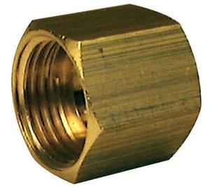 Manchon laiton brut femelle-femelle égal 270AB à butée intérieure diam.12x17mm 1 pièce - Gedimat.fr
