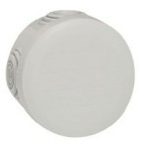 Boîte de dérivation LEGRAND PLEXO étanche ronde diam.70mm haut.45mm coloris gris - Gedimat.fr