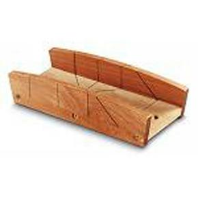 Boite à onglet en bois larg.maxi 122mm haut.maxi 40mm long.350mm - Gedimat.fr