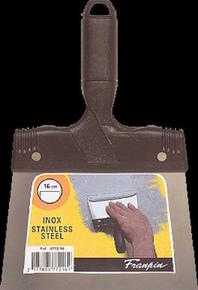 Couteau à enduire inox manche polypropylène 16mm - Gedimat.fr