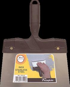 Couteau à enduire inox manche polypropylène 20mm - Gedimat.fr