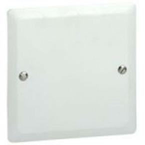 Couvercle pour boîte d'encastrement carrée LEGRAND BATIBOX maçonnerie dim.80x80mm 1 poste blanc - Gedimat.fr