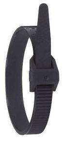 Collier de serrage colson noir larg.9mm long.185mm 100 pièces - Gedimat.fr
