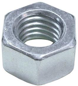 Ecrou acier zingué hexagonal 6 pans diam.10mm en sachet de 6 pièces - Gedimat.fr