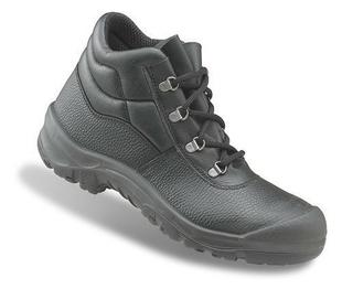 Chaussure de sécurité haute croûte de cuir S1 Taille 42