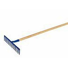 Rateau à béton 14 dents long.40cm emmanché bois haut.9cm - Gedimat.fr