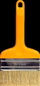 Brosse spalter à lisser et vitrifier fibres soies glycéro n°100 ép.9mm larg.10cm - Gedimat.fr
