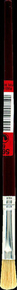 Pinceau à raccords fibres soies manche bois verni virole alu n°6 ép.4,5mm larg.10mm - Gedimat.fr