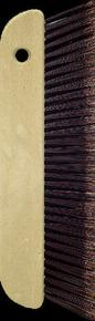 Balai de colleur PVC fleuré marron 3 rangs poignée polypropylène larg.30cm - Gedimat.fr