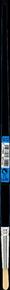 Brosse à tableau ronde fibres soies N° 12 diam.8 mm en vrac 1 pièce - Gedimat.fr