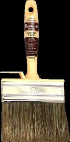 Brosse rectangulaire mélange soies et fibres synthétiques manche et semelle polypropylène larg.100mm - Gedimat.fr