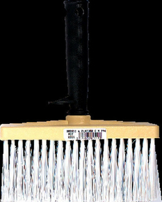 Brosse à encoller fibres PVC manche et semelle monobloc polypropylène ép.8cm larg.17cm - Gedimat.fr