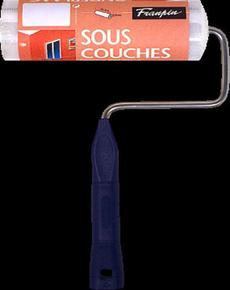 Rouleau polyester fibres courtes manche polypropylène creux larg.180mm diam.40mm - Gedimat.fr