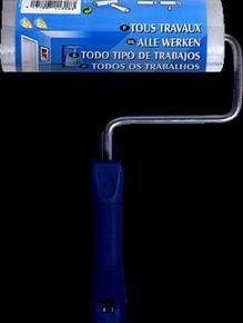 Rouleau mousse tous travaux manche polypropylène creux larg.180mm diam.60mm - Gedimat.fr