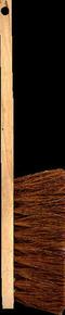 Balayette fibres coco 3 rangs semelle et manche bois 45cm - Gedimat.fr