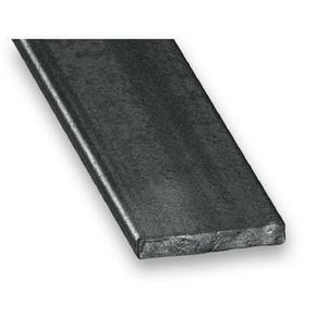 Profilé acier plat 30mm acier laminé à chaud ép.4mm long.2m - Gedimat.fr