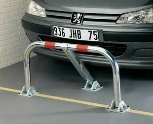 Barrière de parking 45x98cm - Gedimat.fr