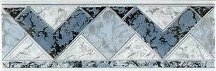 Listel carrelage pour mur en faïence TRAMA larg.6,5cm long.20cm coloris azurro - Gedimat.fr