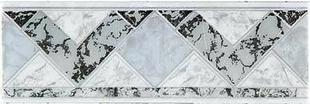 Listel carrelage pour mur en faïence TRAMA larg.6,5cm long.25cm coloris grigio - Gedimat.fr