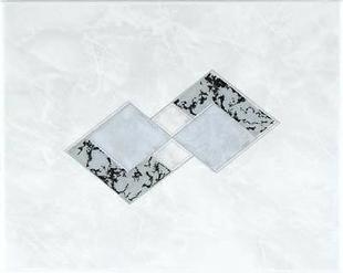 Décor Inserto carrelage pour mur en faïence TRAMA larg.20cm long.25cm coloris grigio - Gedimat.fr