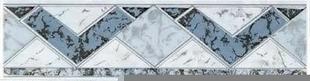 Listel carrelage pour mur en faïence TRAMA larg.6,5cm long.25cm coloris azurro - Gedimat.fr