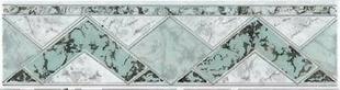 Listel carrelage pour mur en faïence TRAMA larg.6,5cm long.25cm coloris verde - Gedimat.fr