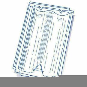 Tuile de verre DELTA 10 long.44,3cm larg.27,5cm - Gedimat.fr
