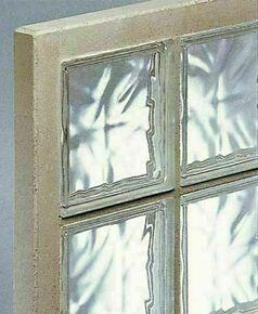 Briques de verre 195 nuagées transparentes en panneau préfabriqué N 25 ép.5cm haut.47cm larg.107cm - Gedimat.fr